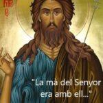 FESTA   DE  SANT  JOAN   BAPTISTA  –  CELEBRACIONS